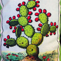 Small Loteria Pillow - El Nopal