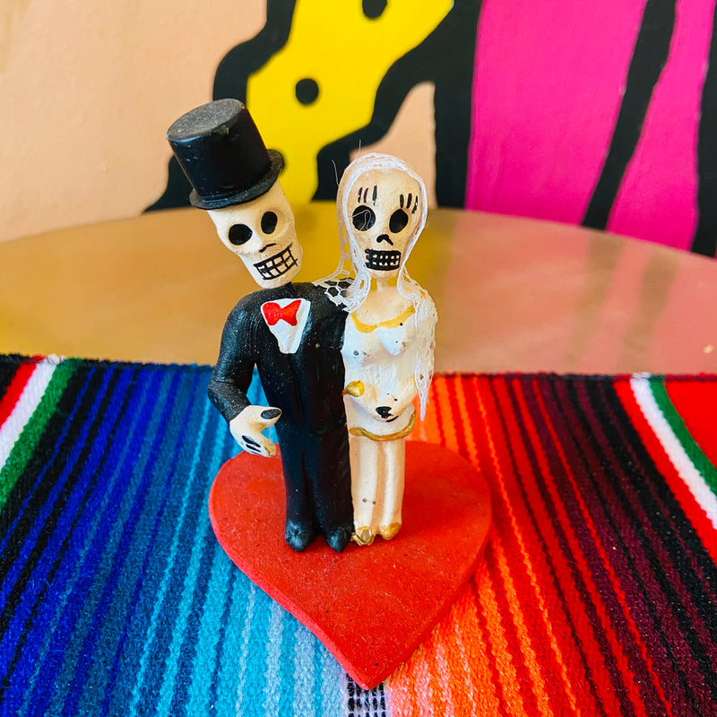 Mini Calavera Candle