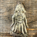 Day of the Dead Tin Ornament - La Dama
