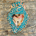 Oxidized Copper Heart- #3