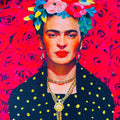 El Jardin De Frida Pillow