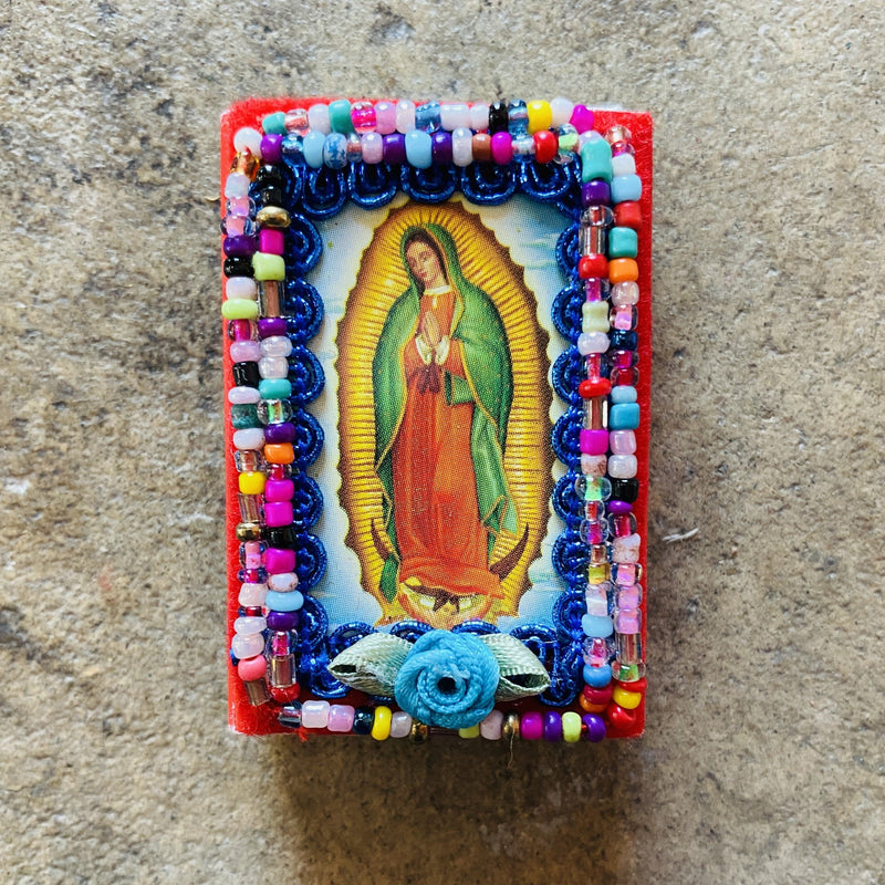 Beaded Virgen De Guadalupe Matches