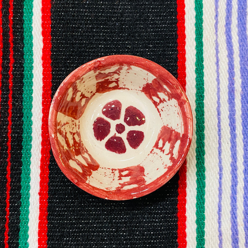 Painted Ceramic Mini Bowl