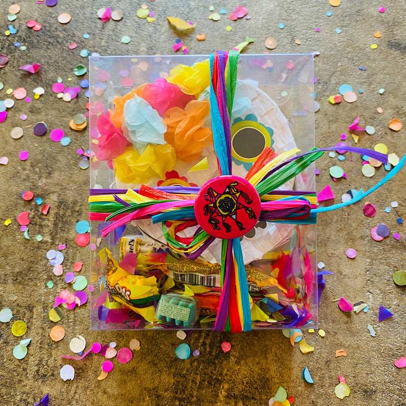 Mini Sugar Skull Piñata Candy Pack