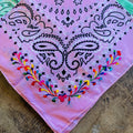 Oaxacan Embroidered Bandana