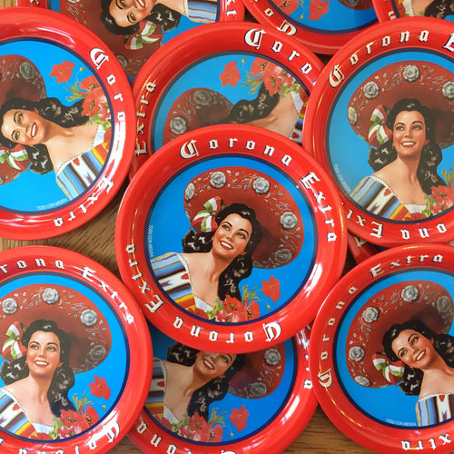 Señorita Metal Coaster — Artelexia Online Shop of Mexican Gifts, Homewares, and more ...