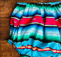 Serape Bloomers - Blue