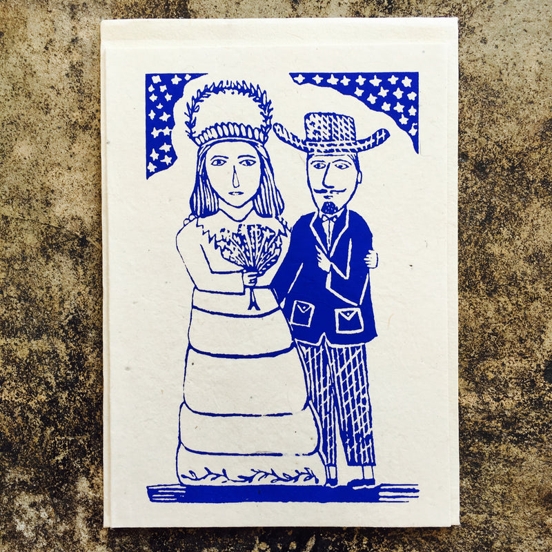 The Wedding Couple Card
