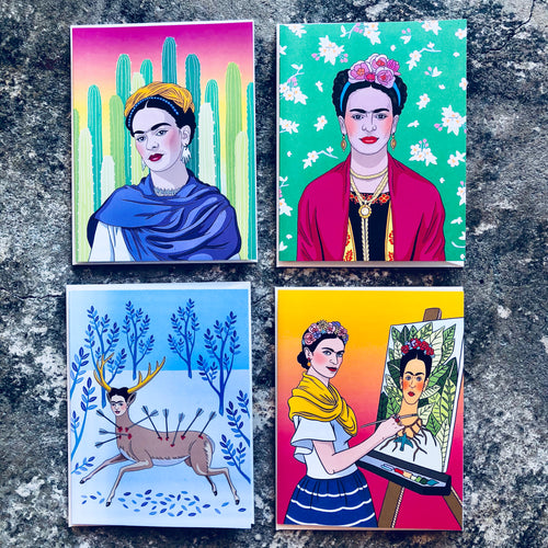 Frida Kahlo Assorted Card Set
