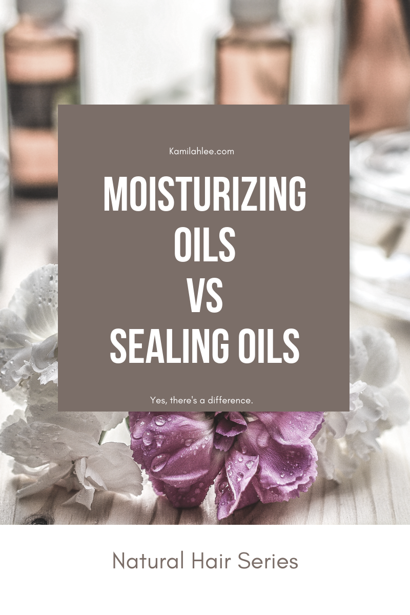 The difference between Moisturizing oils vs Sealing Oils.