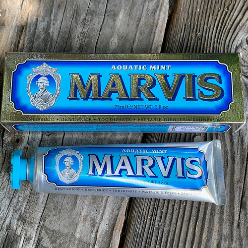 Wellness: Marvis Aquatic Mint Toothpaste