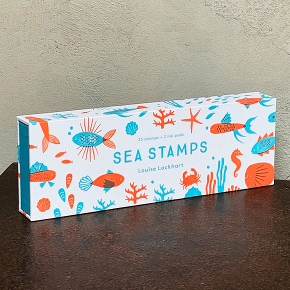 Kids: Sea Stamps rubber stamp set