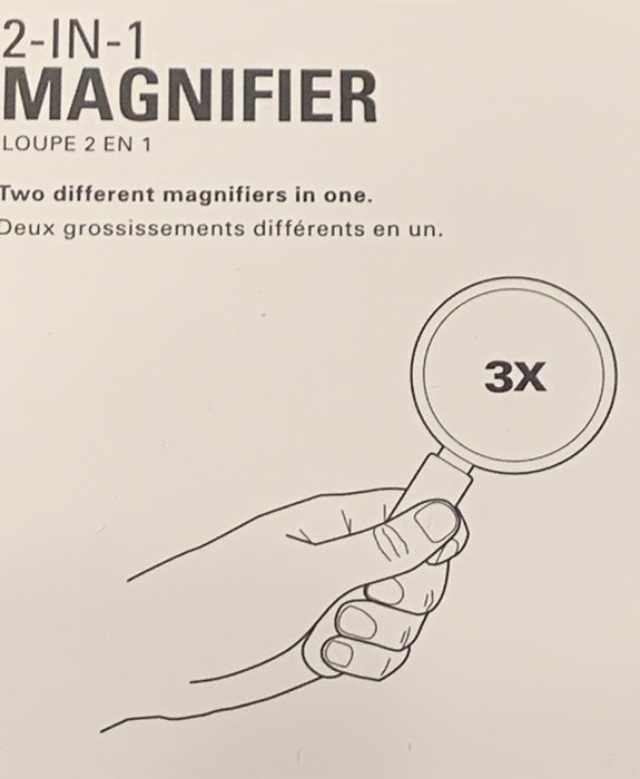 Home: 2-in-1 Magnifier