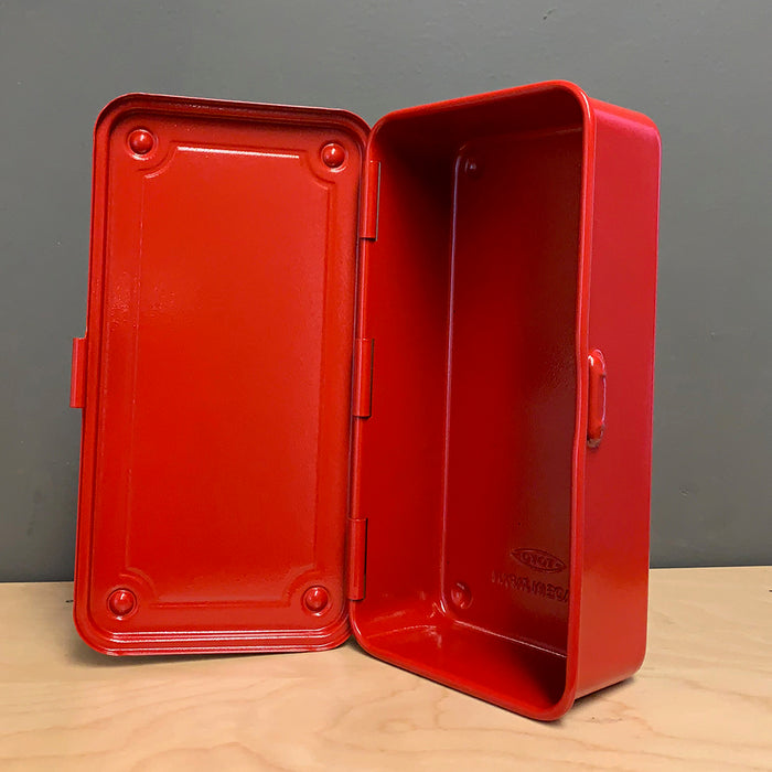 Mini Toolbox in Bright Red