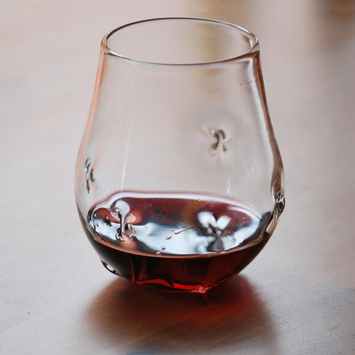Handblown Stemless Wine Glass