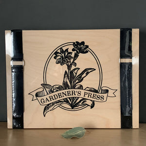 "Craft: 9"" X 12"" Gardener's Press Set"