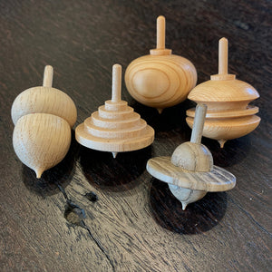 Home: Hand-Turned Spinning Tops