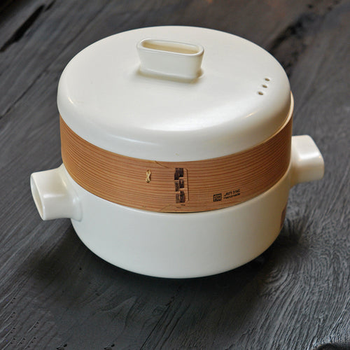 Home: Ceramic Steamer