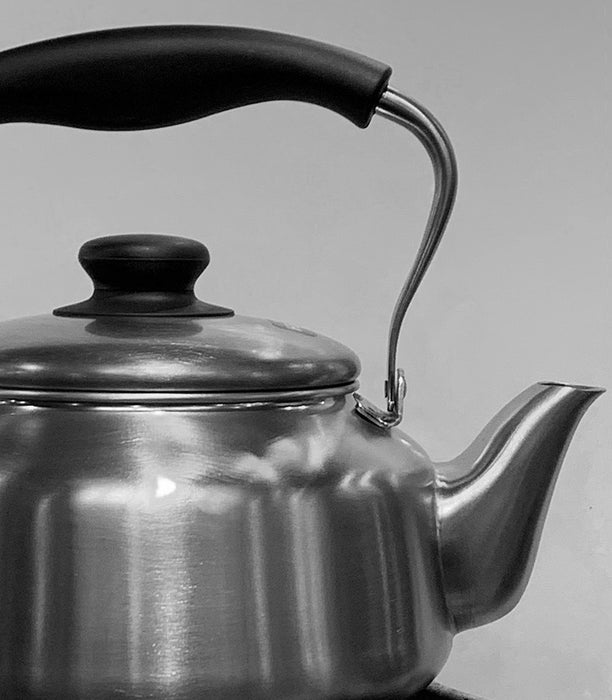 Home: Stainless Steel Kettle by Sori Yanagi