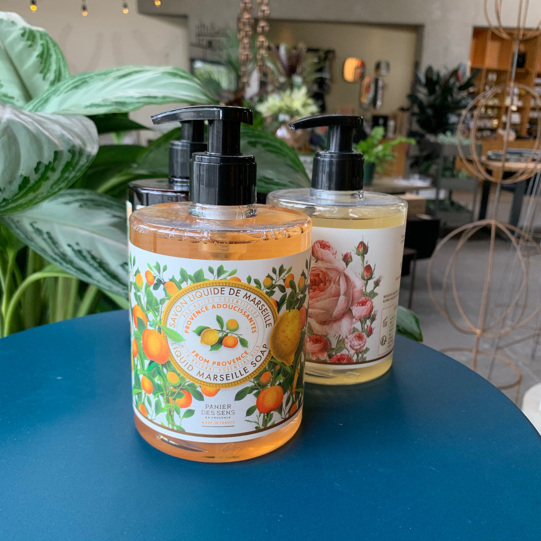 At Home: Provence Liquid Marselle Soap