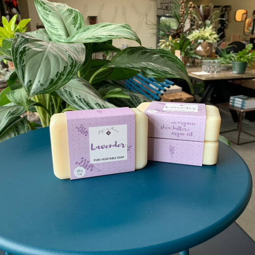 Wellness: Lavender Soap Set of 3