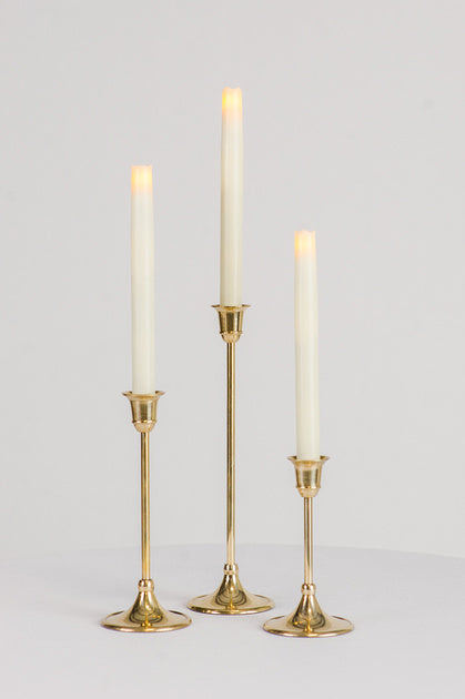 Classic Candle Set of 3