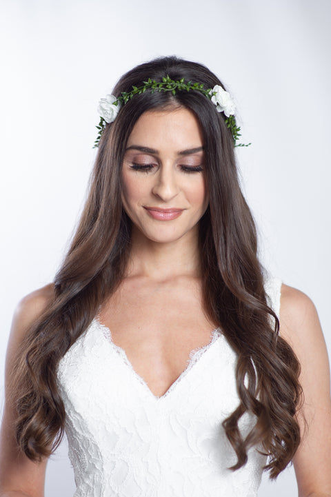 Jane Floral Crown
