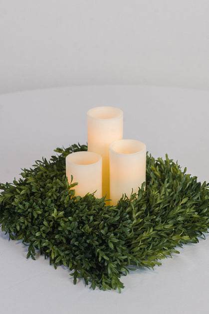 Pillar Candle Trio