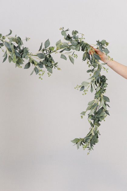 Spiral Seeded Eucalyptus Garland