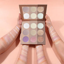 CoCaBee Cosmetic 9 colour eyeshadow palette