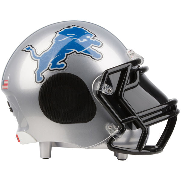 Detroit Lions Football Helmet Bluetooth Speaker