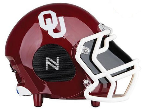 Oklahoma Sooners Football Helmet Bluetooth Speaker