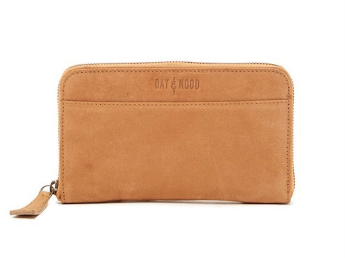Day & Mood Ivy Vintage Wallet in Tan