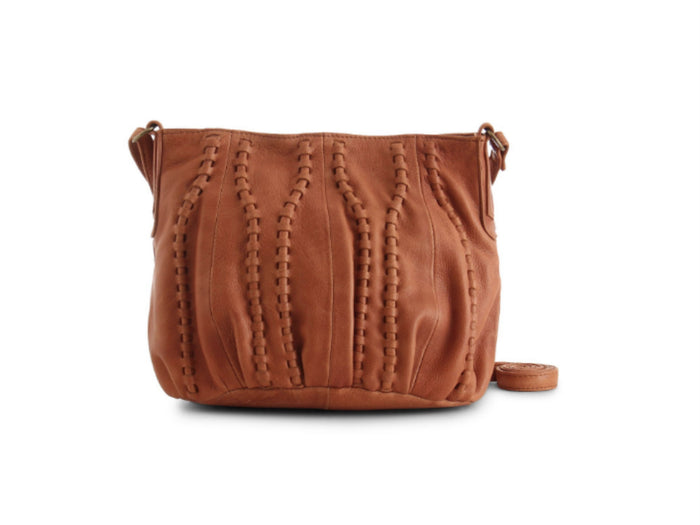 Day & Mood Levie Crossbody in Cognac