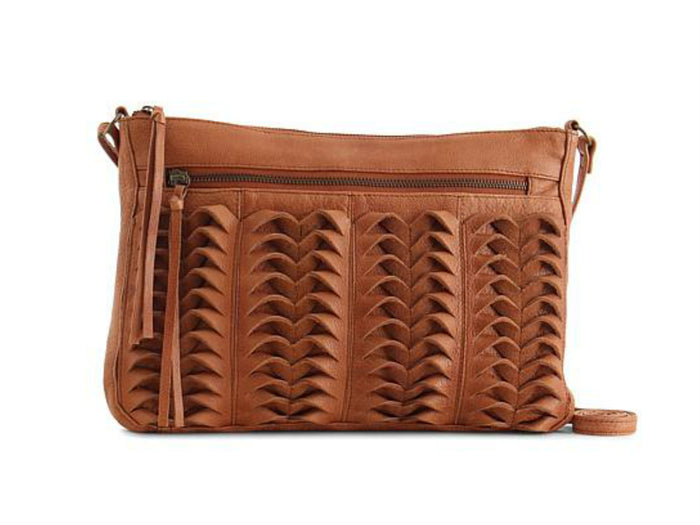 Day & Mood Linnly Crossbody in Cognac