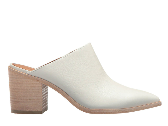 Frye Flynn Mule in White