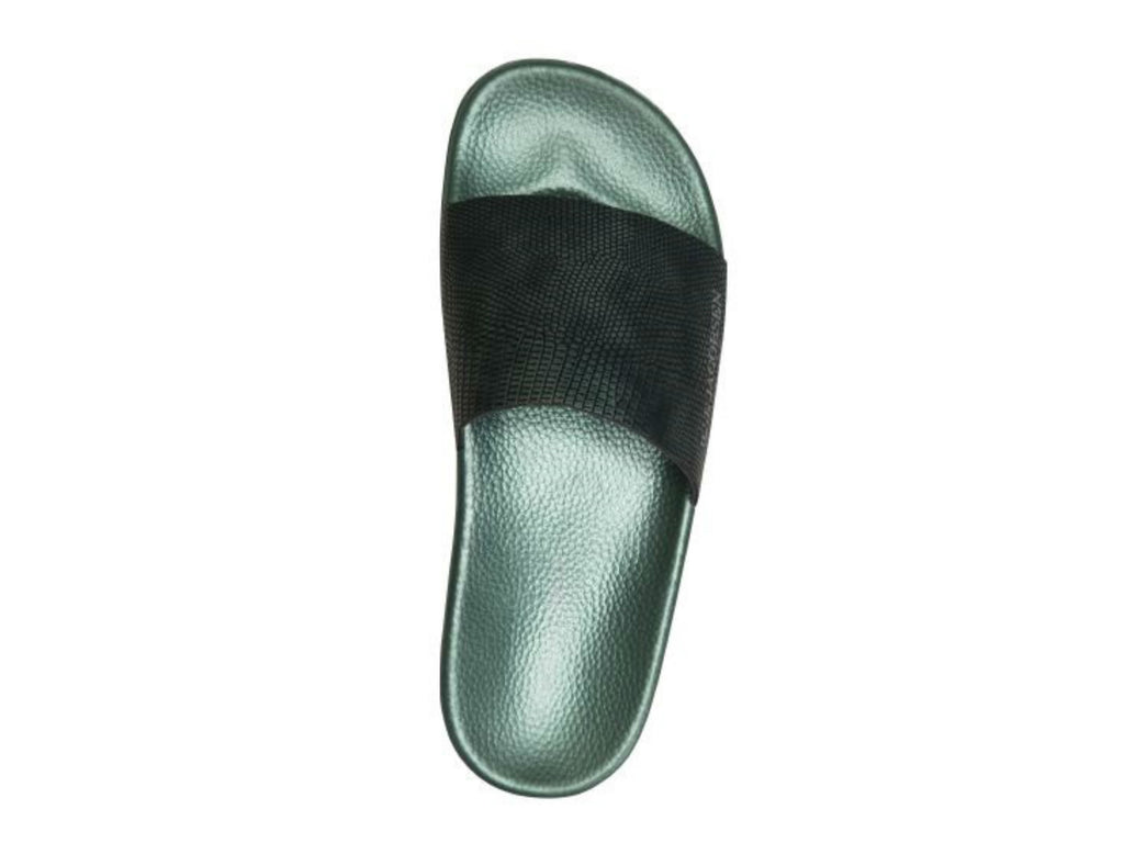 Ilse Jacobsen Sea Sandal in North Green