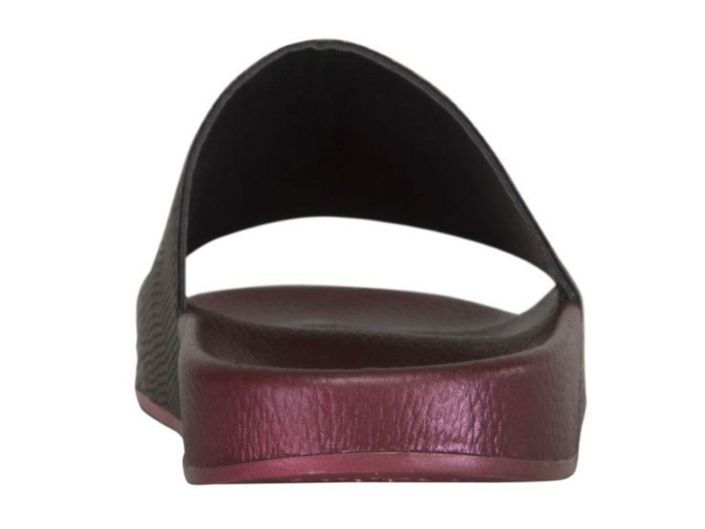 Ilse Jacobsen Sea Sandal in Red Plum