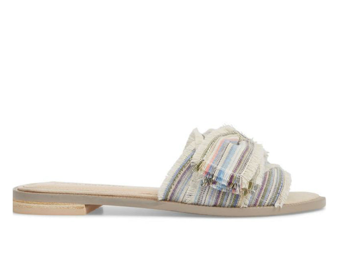 Kelsi Dagger Brooklyn Revere Bow Slide Sandal in Bone