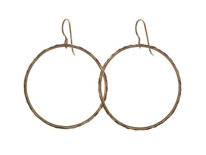 Kenda Kist Large Circle Earrings