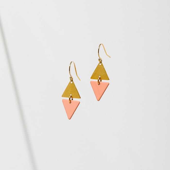 Larissa Loden Alta Earrings - Pink