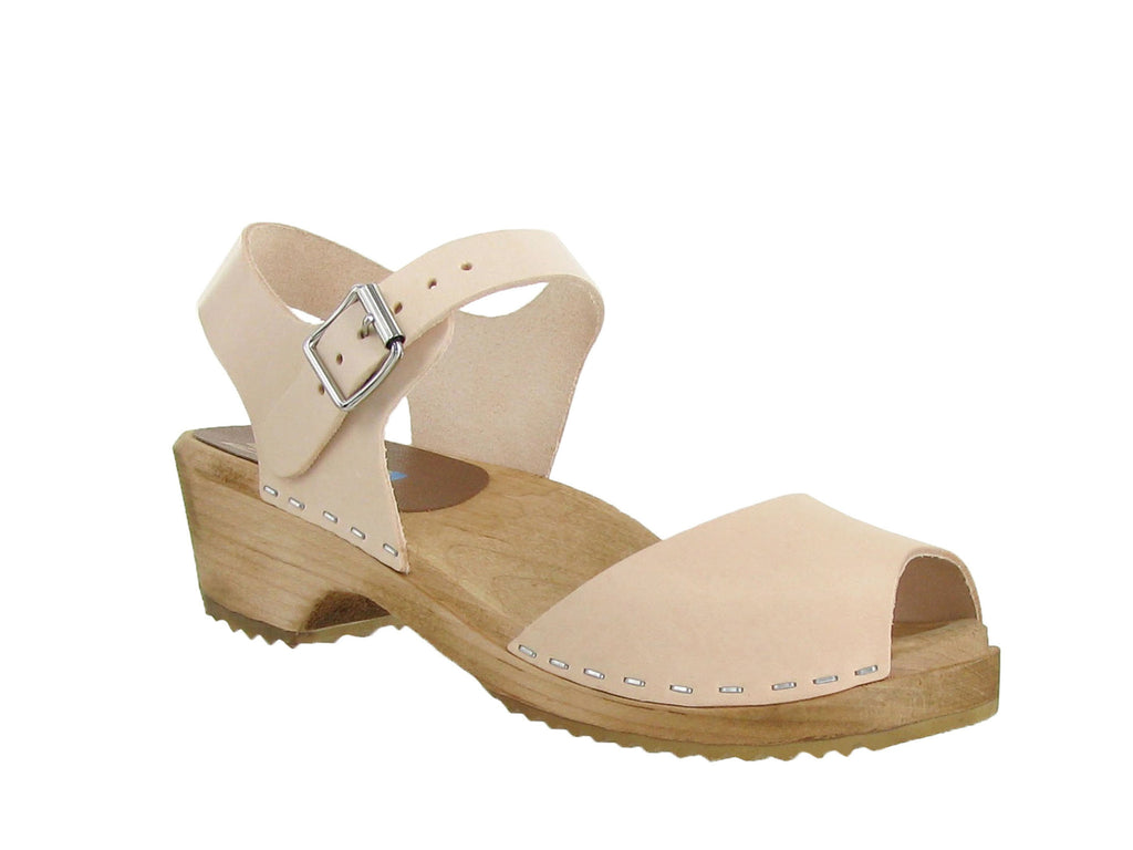 a48edfb5a917 MIA Anja Mary-Jane Low Clog in Natural – Gild Shoes