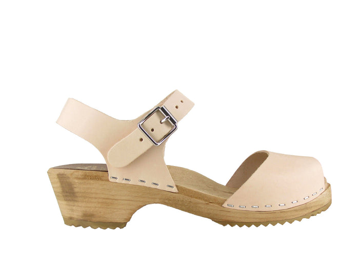 MIA Anja Mary-Jane Low Clog in Natural