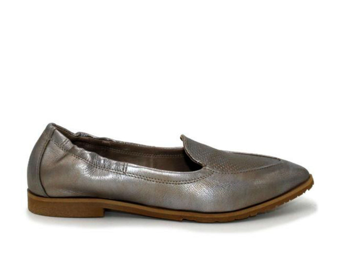 Miz Mooz Cloud Flat in Nickel