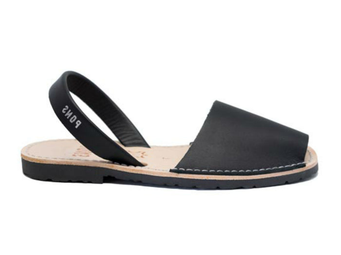 PONS 510 Avarcas Sandal in Black