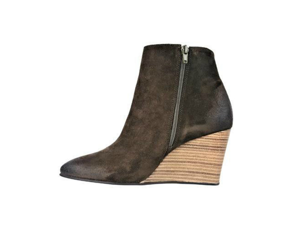 Rebels Nanda Wedge Bootie in Hiking Green