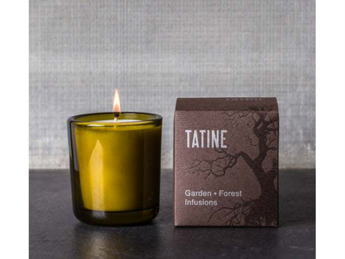 Tatine Garden + Forest Infusions Holy Basil Candle 8oz candle