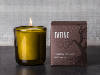 Tatine Garden + Forest Infusions Bergamot 8oz Candle