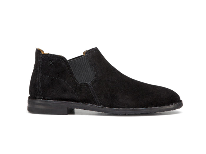 Trask Allison Bootie in Black Suede