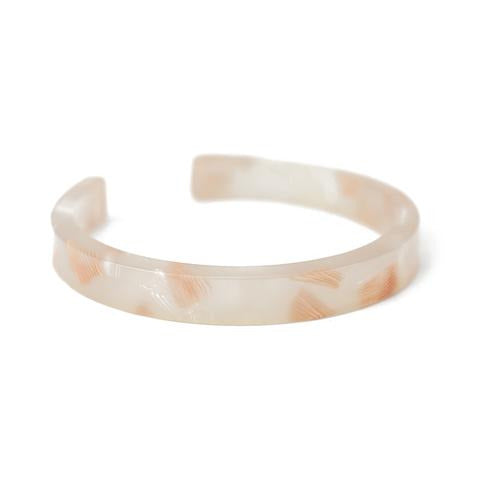 Baleen Simple Cuff - Pink Shell